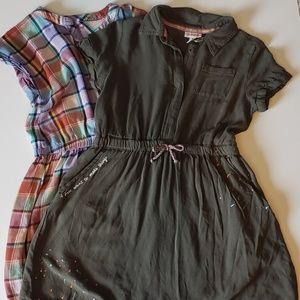 Girls 2 dress BUNDLE Cat & Jack  - Large 10/12